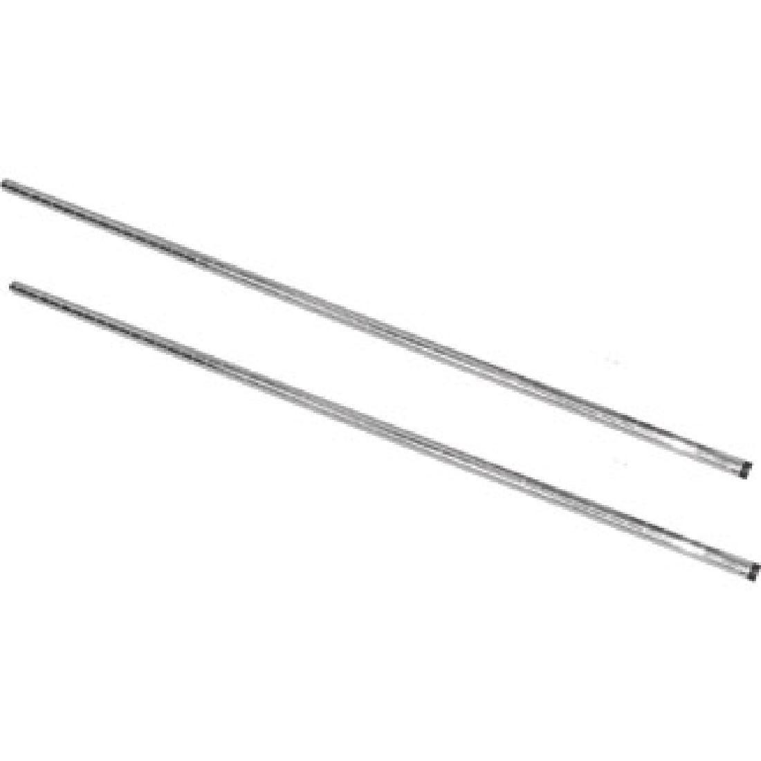 Vogue Chrome Upright Posts 1270mm Pack of 2 - U887