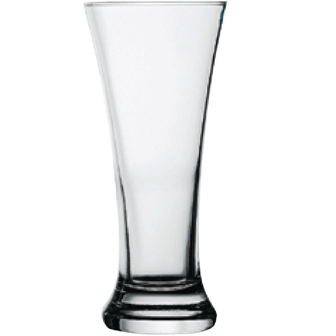 Pilsner Glass - 285ml 10oz 1/2pint CE (Box 48) - S055