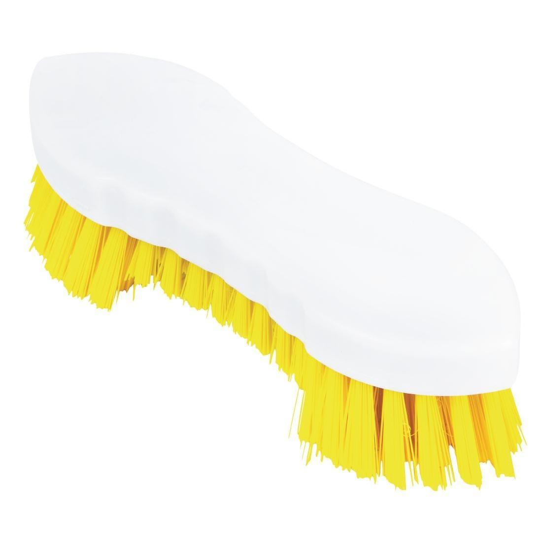 Jantex Scrub Brush Yellow