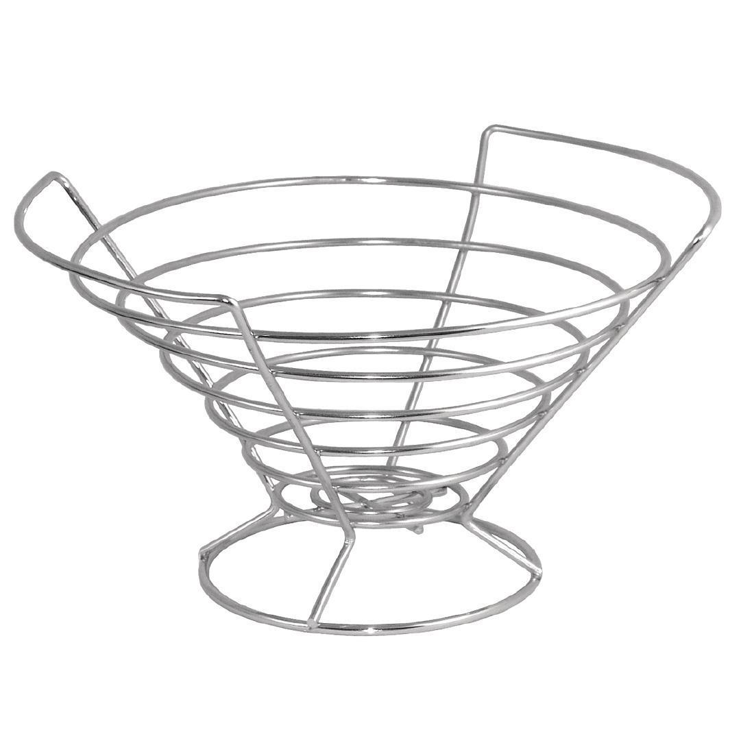 Small Wire Fruit Bowl