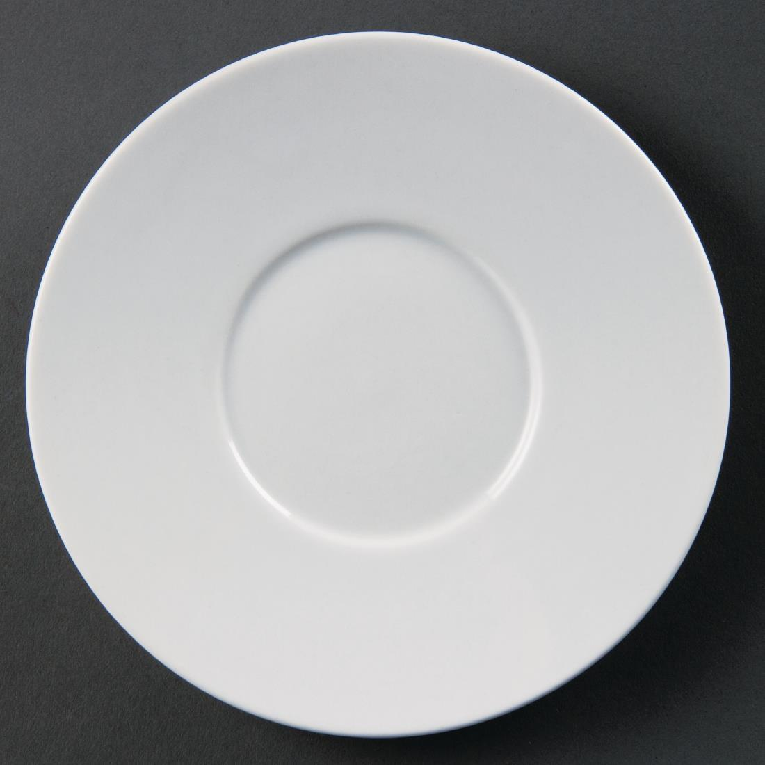 Olympia Whiteware Elegant Saucers 148mm