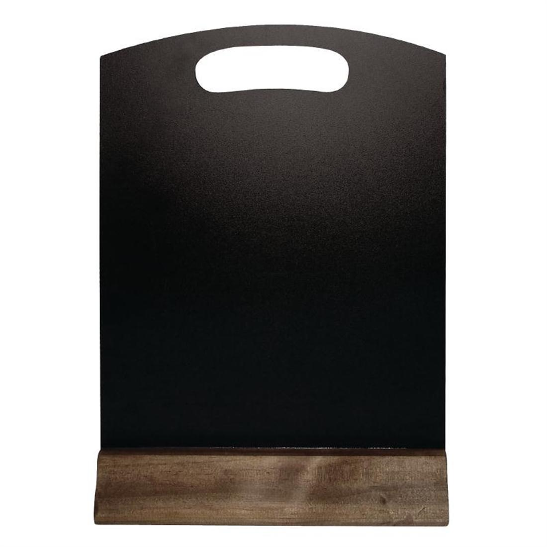 Olympia Freestanding Table Top Blackboard 225 x 150mm