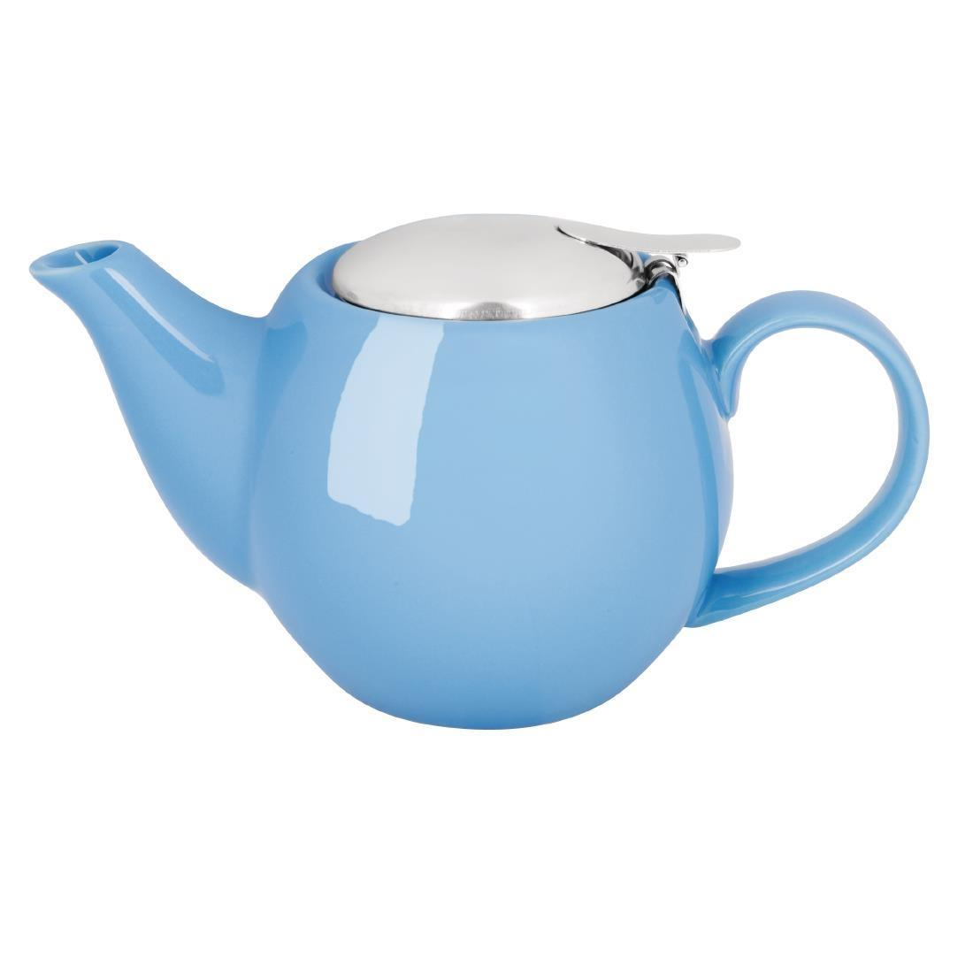 Olympia Cafe Teapot 510ml Blue