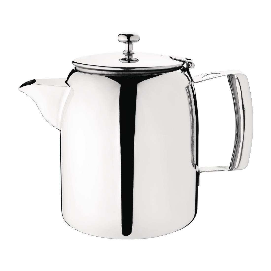 Olympia Cosmos Stainless Steel Teapot 1.4Ltr