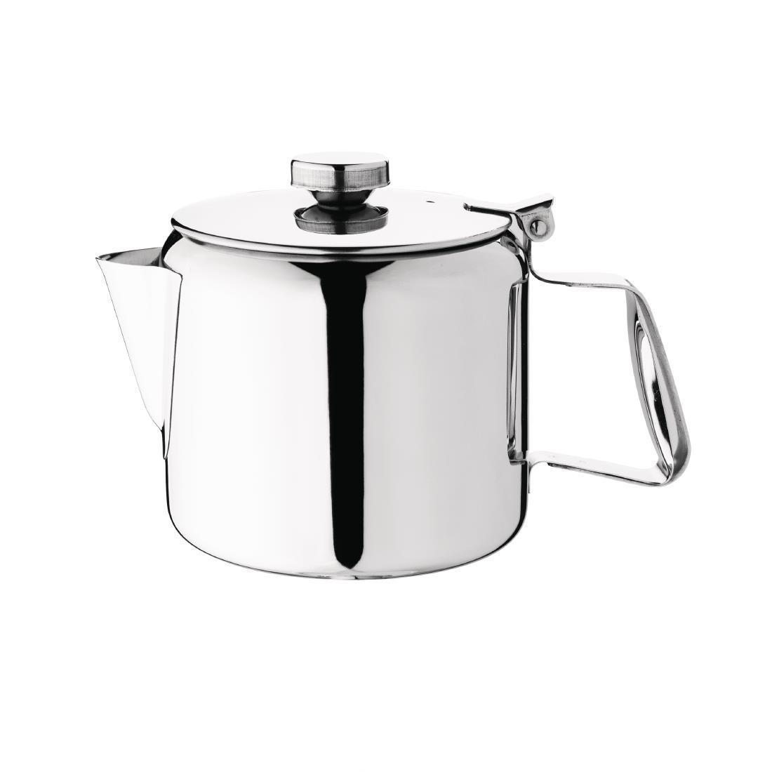 Olympia Concorde Stainless Steel Teapot 910ml