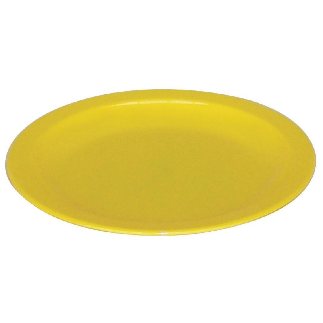 Kristallon Polycarbonate Plates Yellow 230mm - Case 12 - CB767