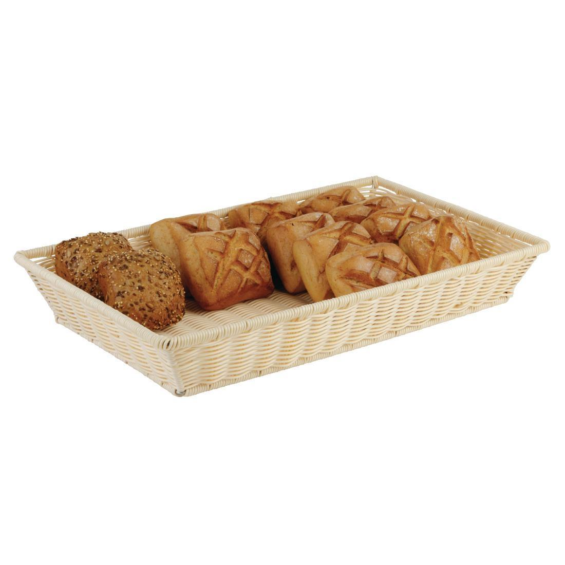 APS Polypropylene Rattan Display Basket 300 x 220mm - Each - CK354