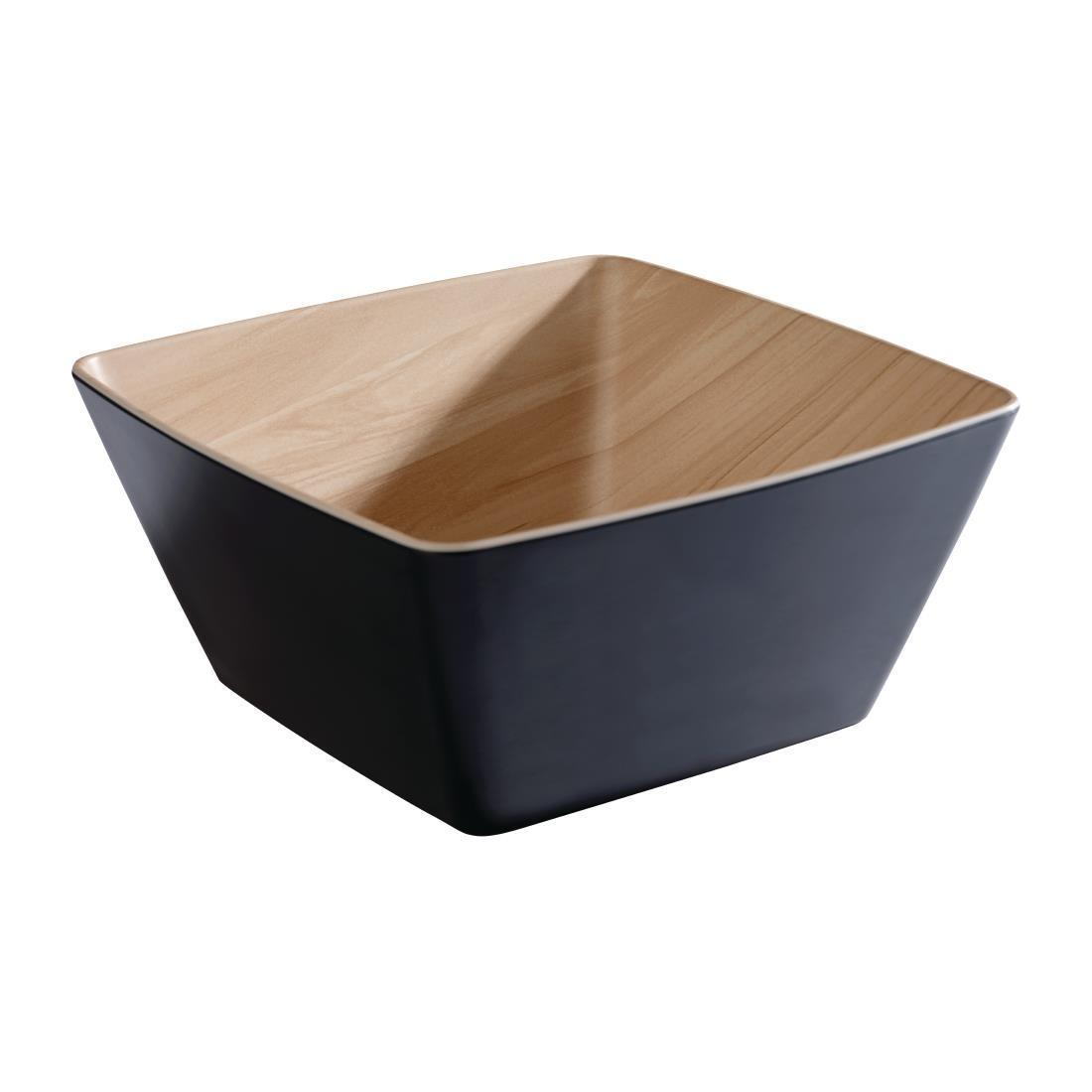 APS Frida Deep Bowl 250mm Black - Each - DW053