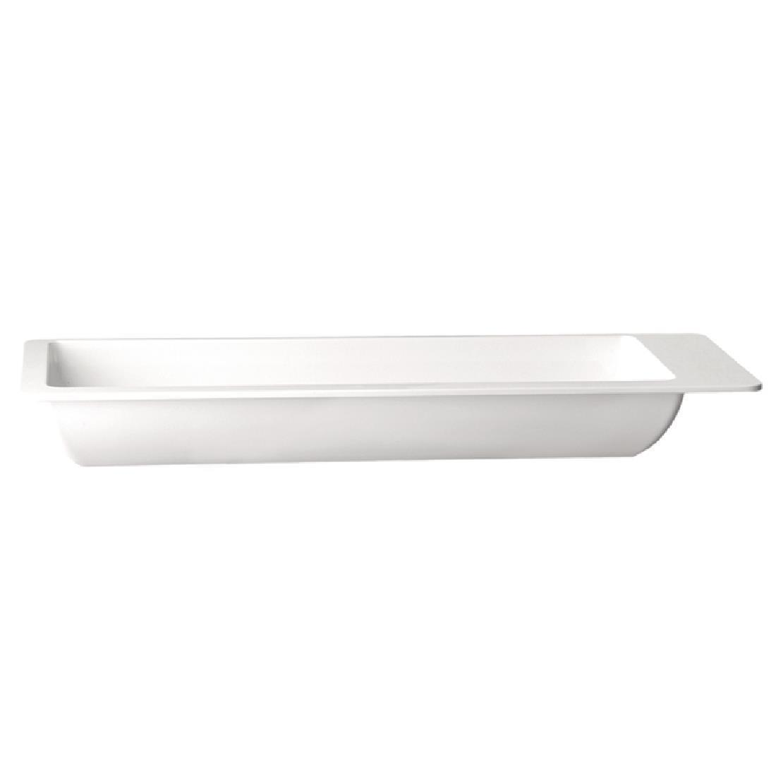 APS Apart Rectangular Buffet Tray 530 x 165mm - Each - GD112