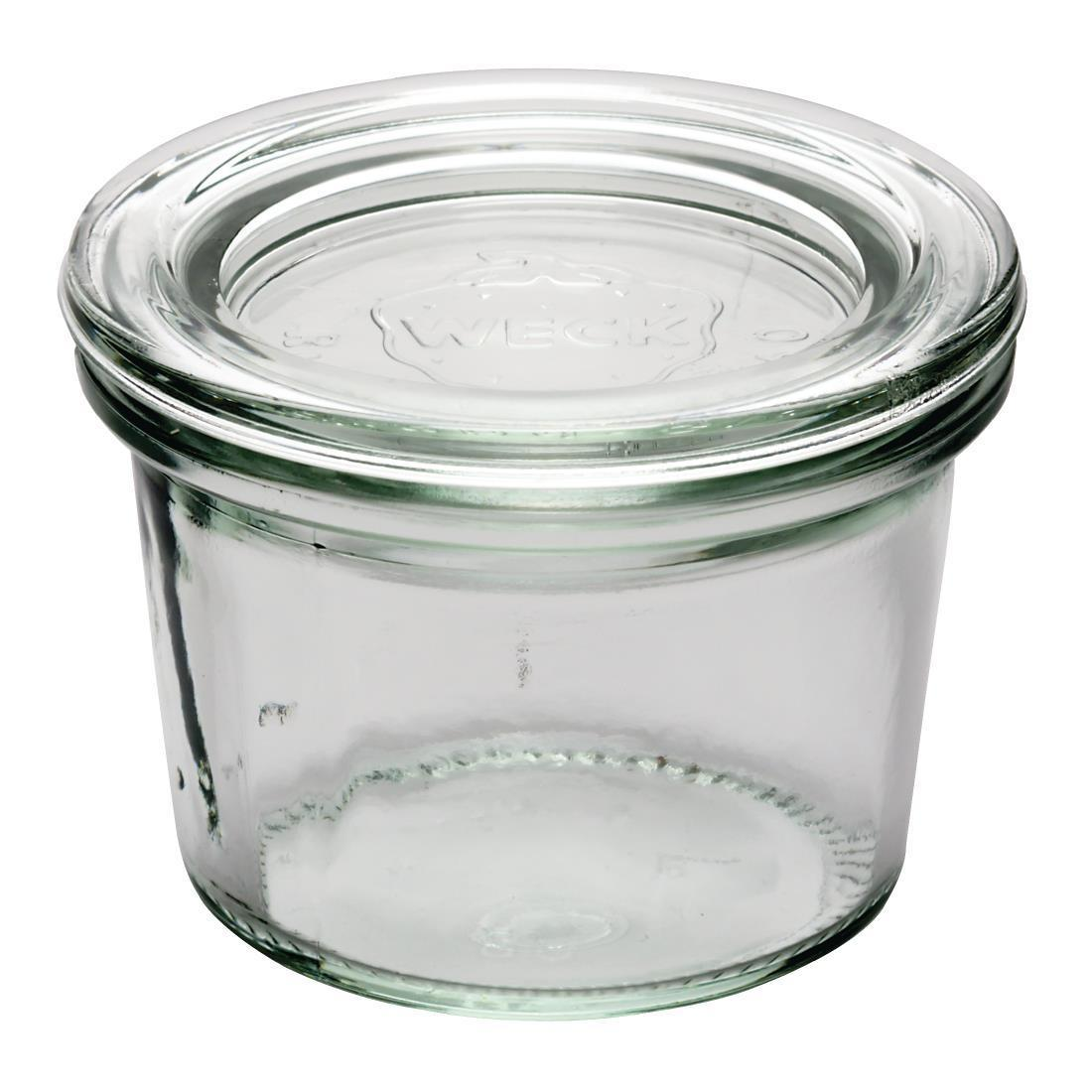 APS 80ml Weck Jar (Pack of 12) - Case 12 - GH386