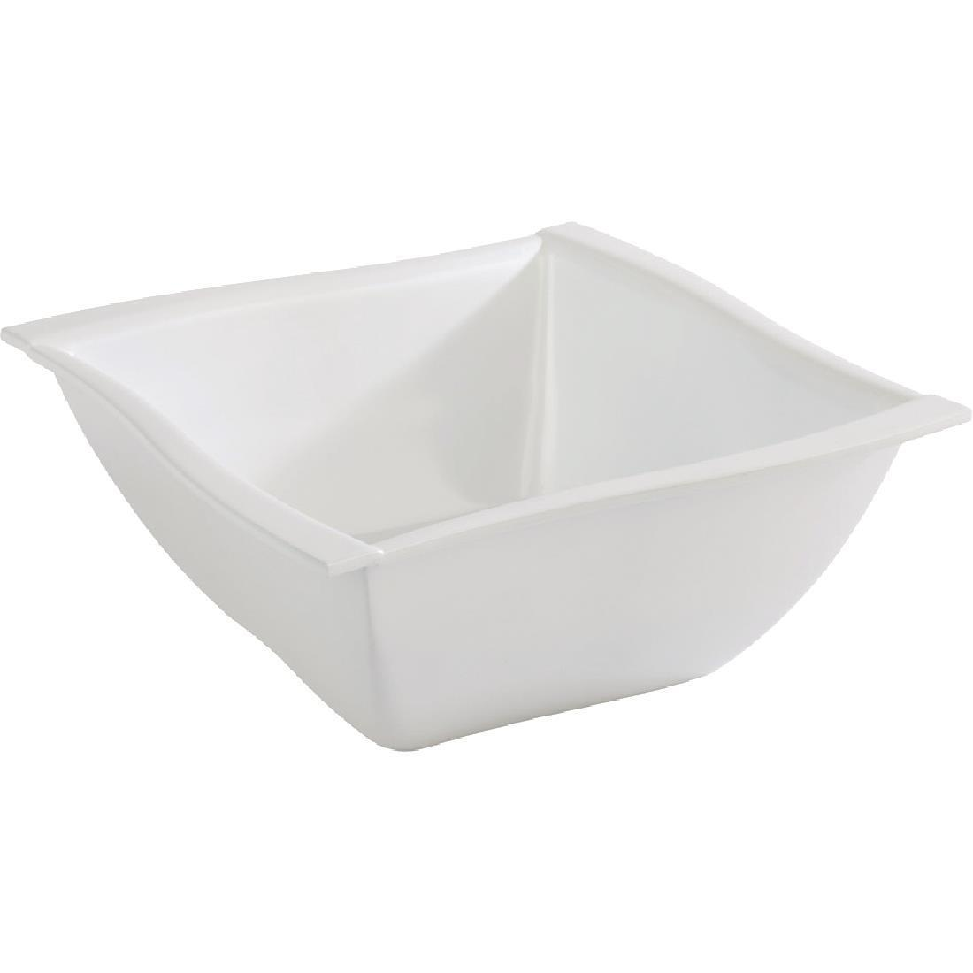 APS Wave Melamine Bowl 210mm - Each - GK830