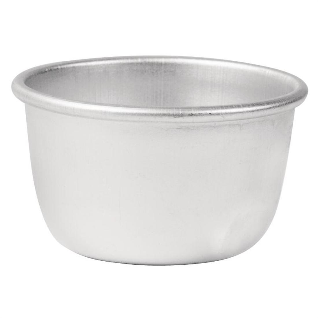 Vogue Aluminium Mini Pudding Basin 105ml - Each - E048