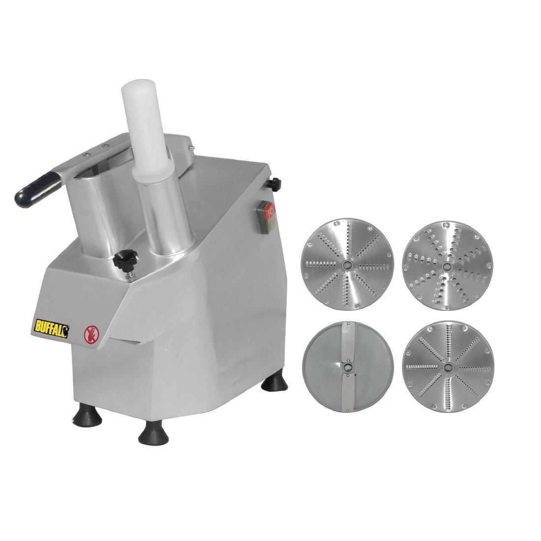 Buffalo Continuous Veg Prep Machine with 4 Discs - S547
