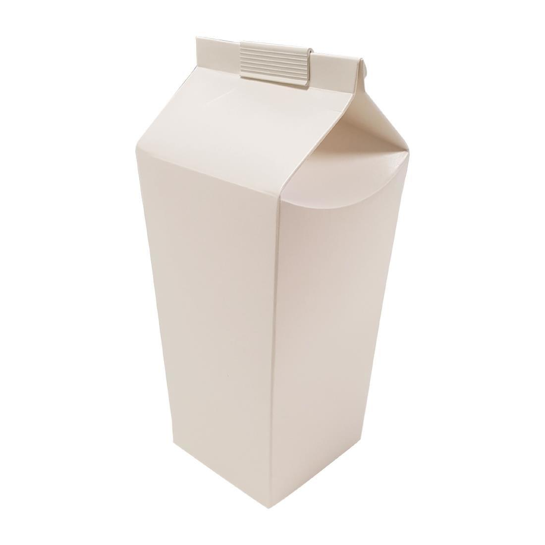 Disposable Beer Cartons White 2 Pint