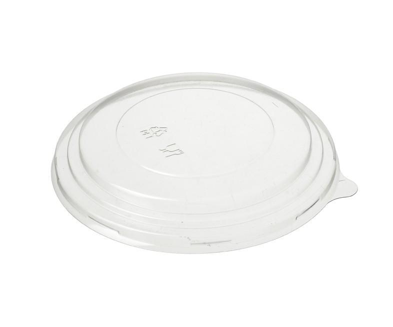 Kraft Salad Bowl PET Recyclable Lid to fit 1300ml Bowl