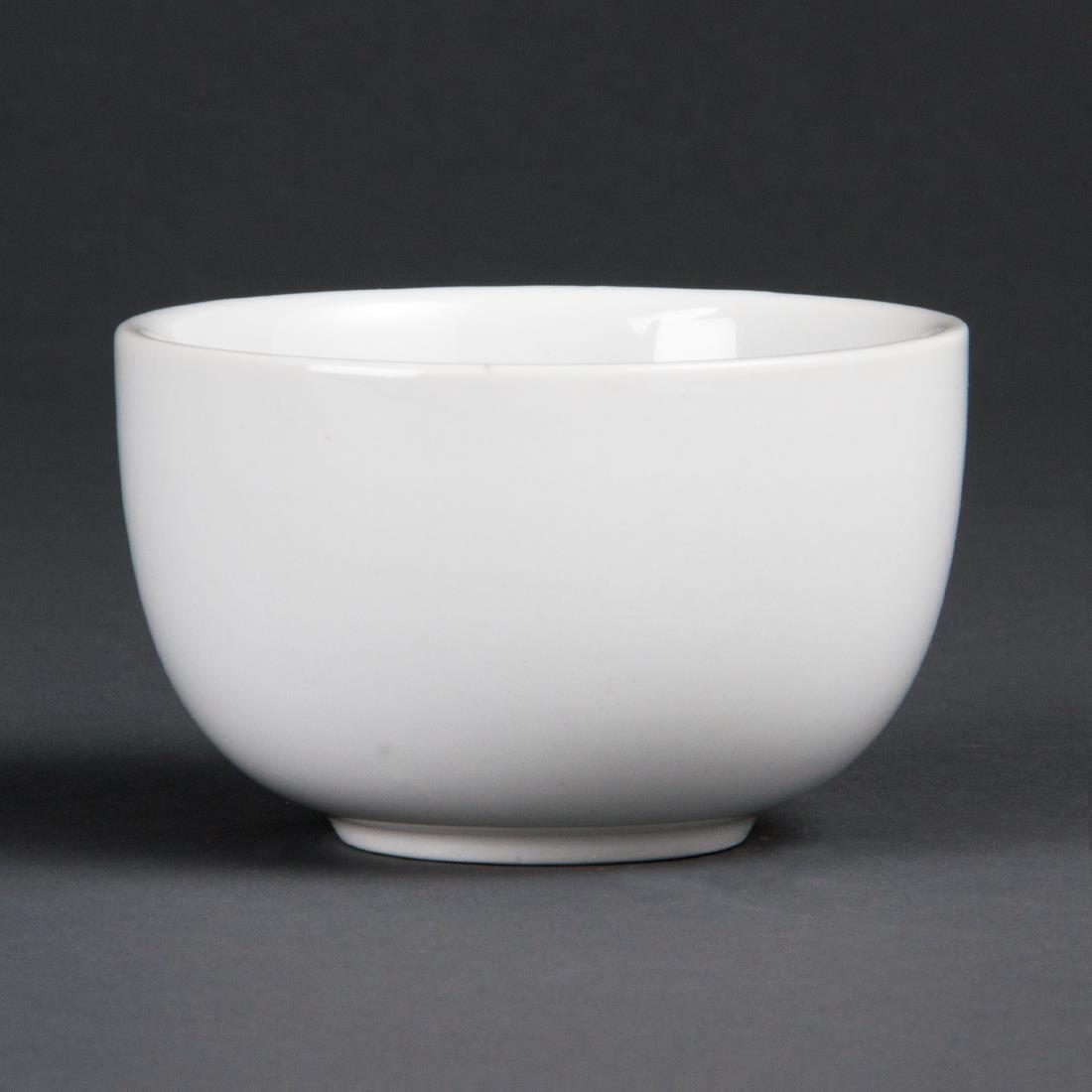 Olympia Whiteware Sugar Bowls 95mm