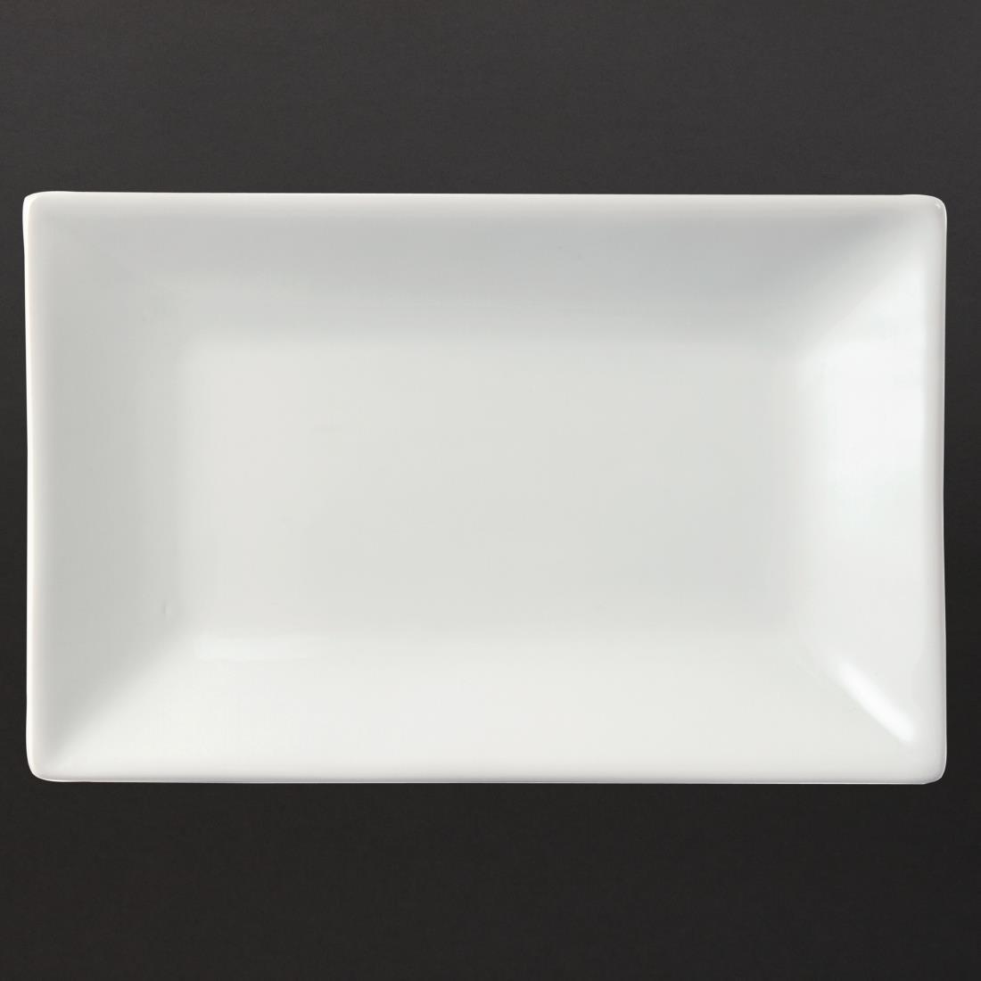Olympia Serving Rectangular Platters 200x 130mm
