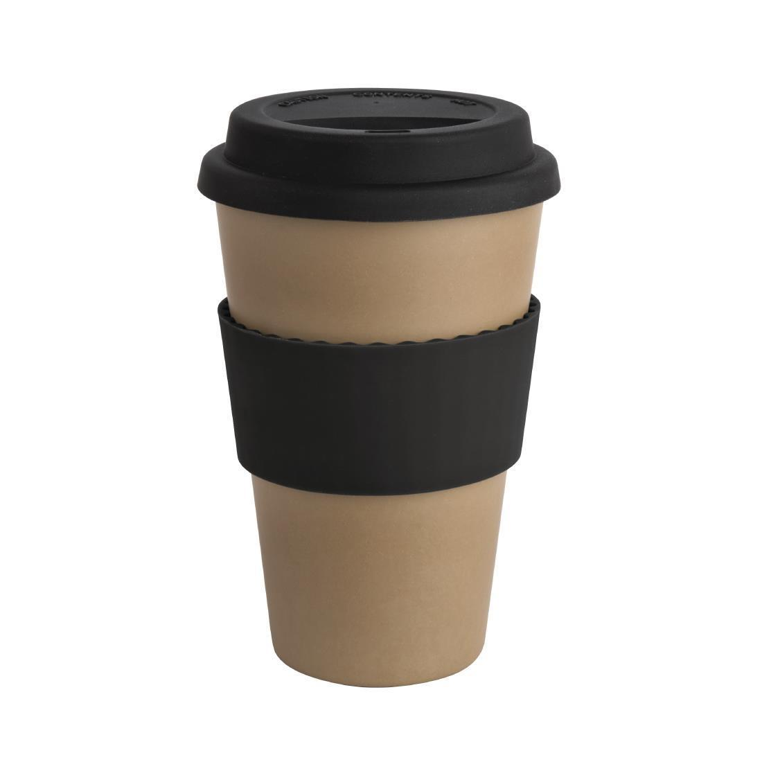 Olympia Bamboo Reusable Coffee Cup 16oz