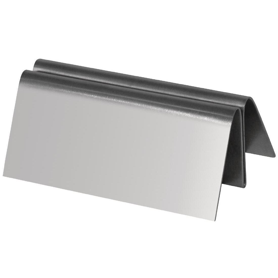 Stainless Steel Menu Holder