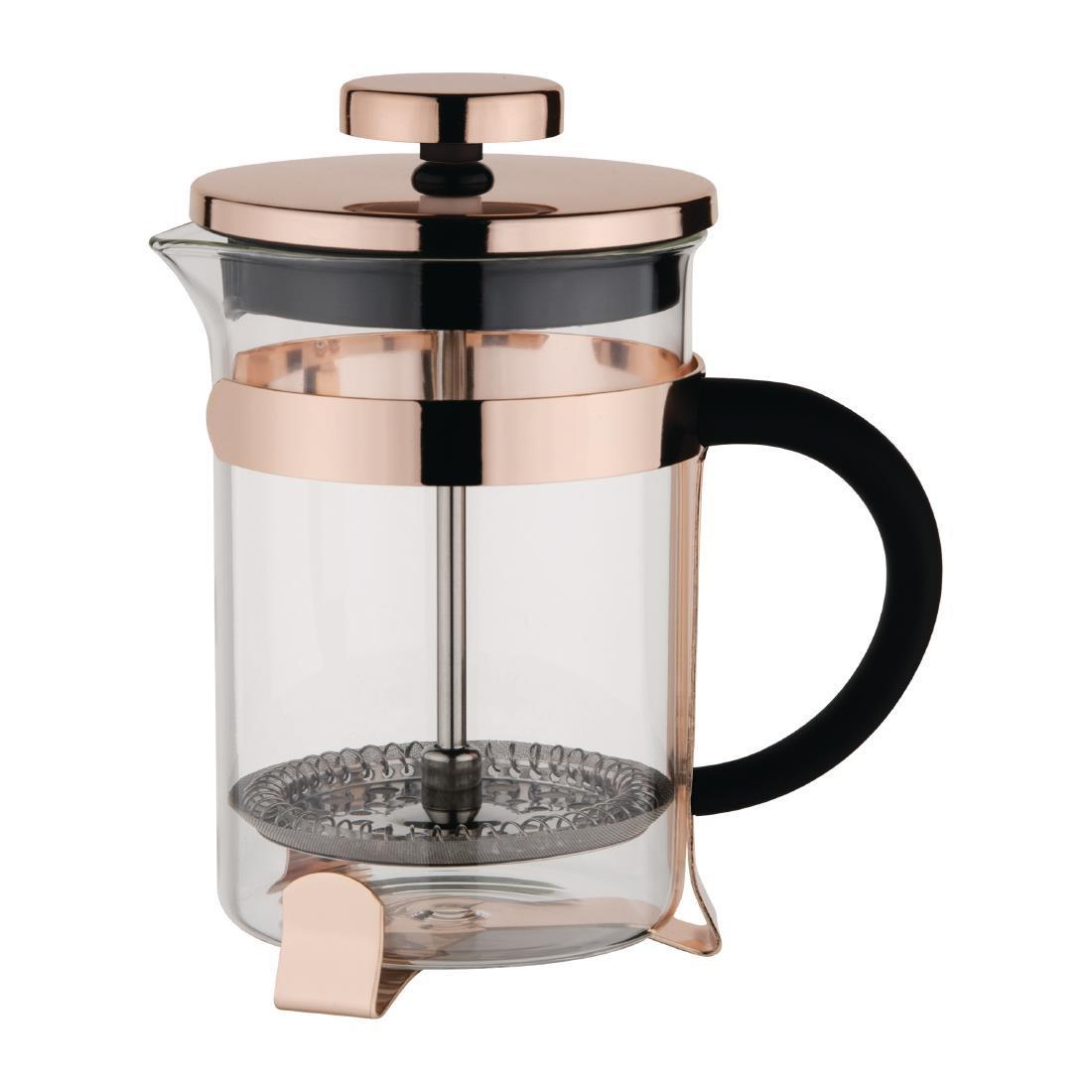 Olympia Contemporary Cafetiere Copper 12 Cup