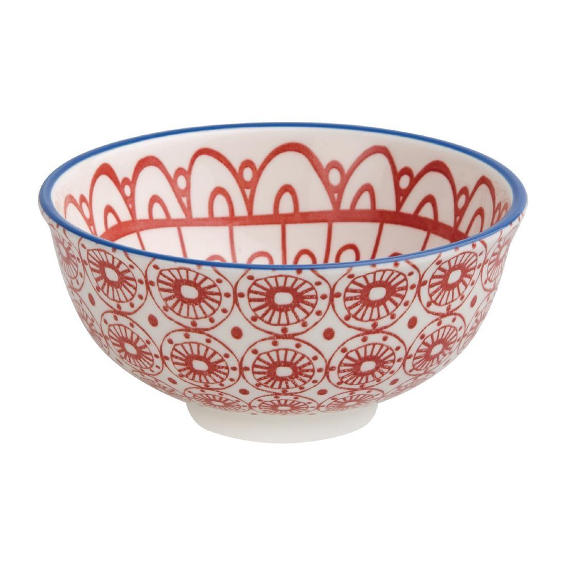 Olympia Fresca Small Bowls Red 120mm