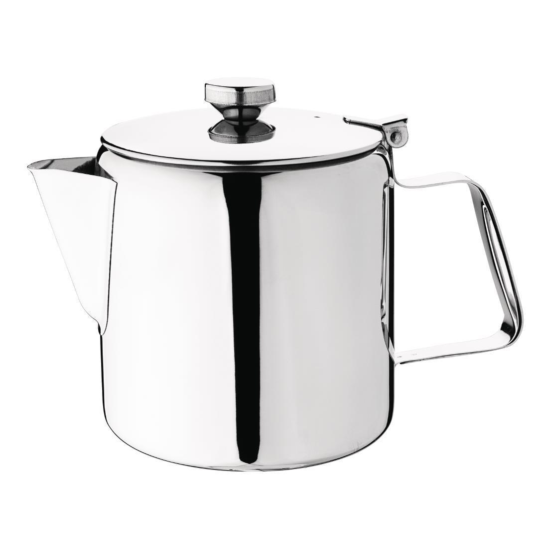 Olympia Concorde Stainless Steel Teapot 1.35Ltr