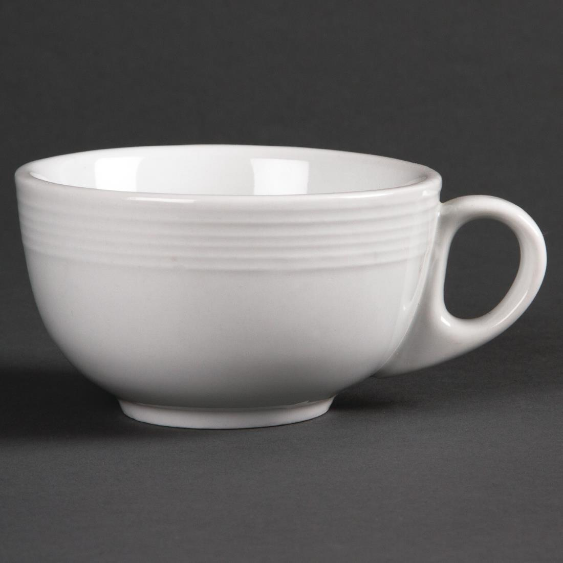Olympia Linear Cappuccino Cups 206ml