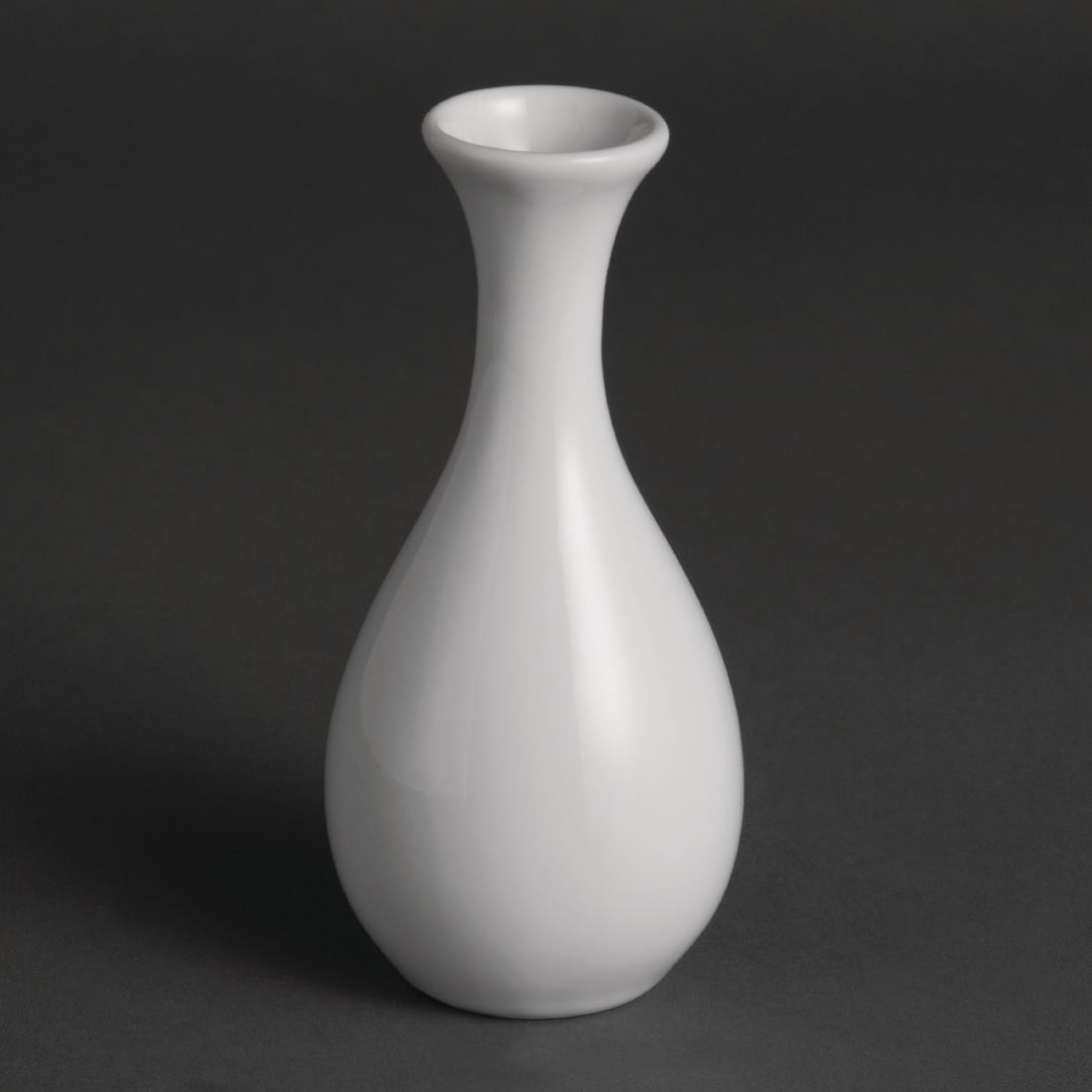 Olympia Whiteware Bud Vases 125mm