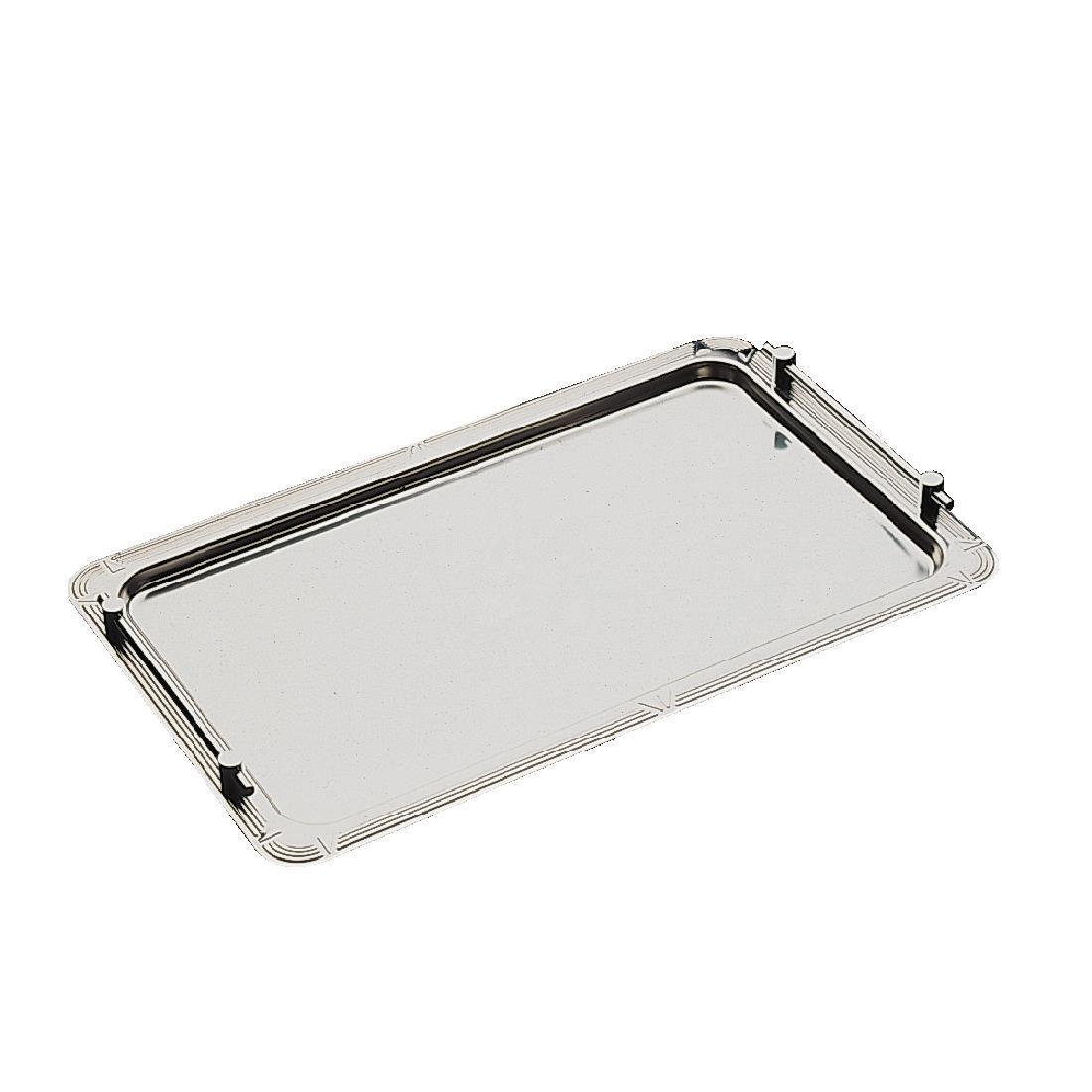 APS Stainless Steel Stacking Buffet Tray GN 1/1 - Each - P001