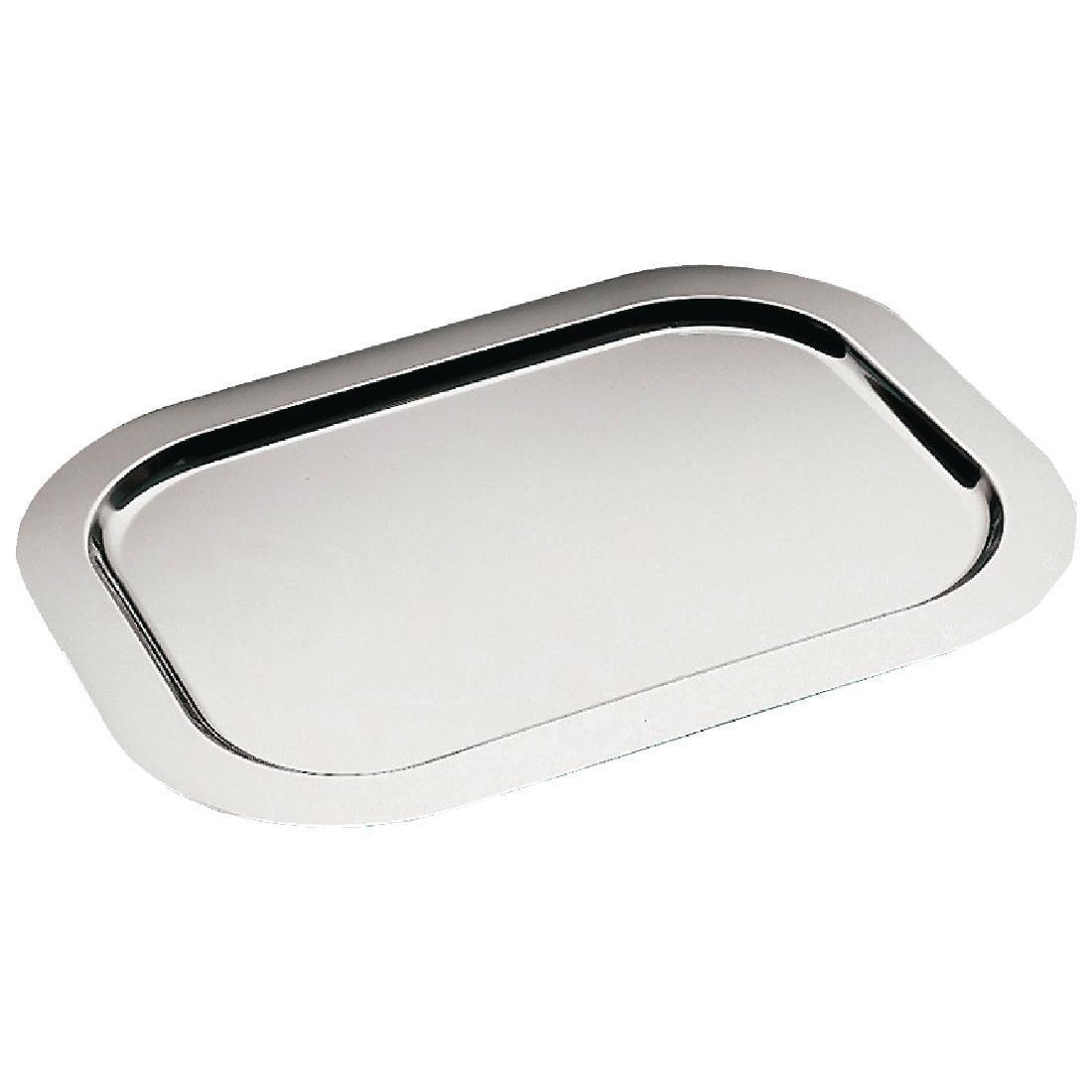 APS Small Stainless Steel Service Tray 480mm - Each - T744