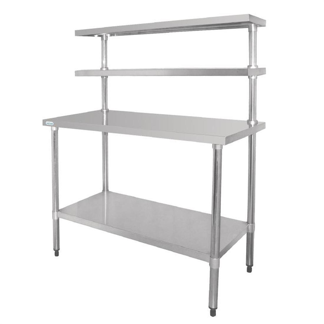 Vogue Stainless Steel Prep Station 1800x600mm - Each - CC360