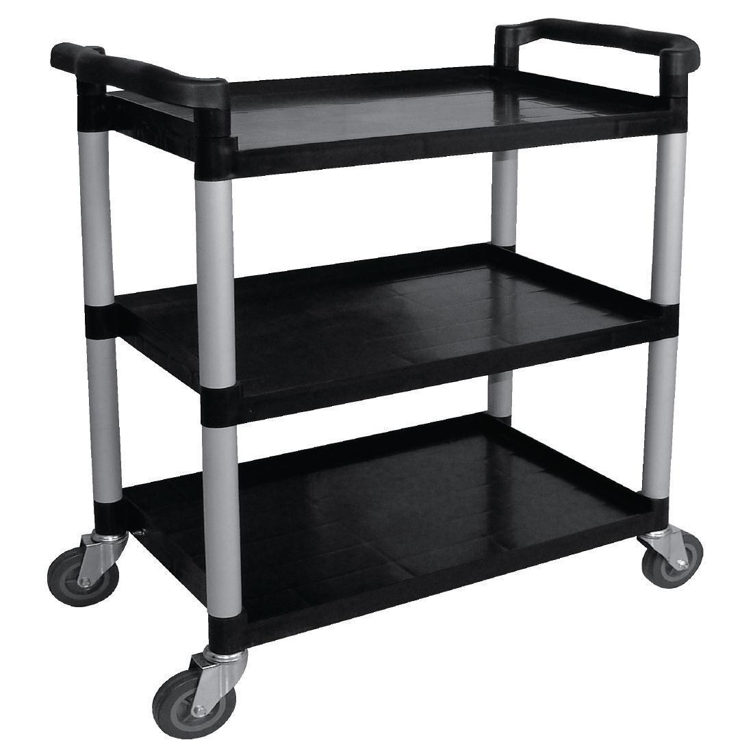 Vogue Polypropylene Mobile Trolley Large - Each - CF102