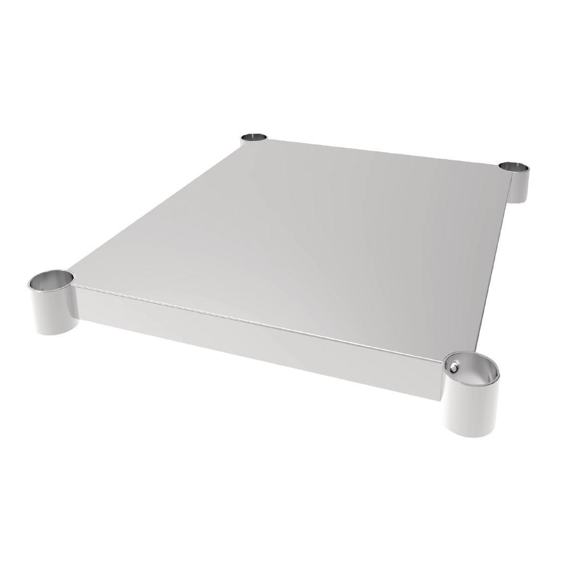 Vogue Stainless Steel Table Shelf 700x600mm - Each - CP835