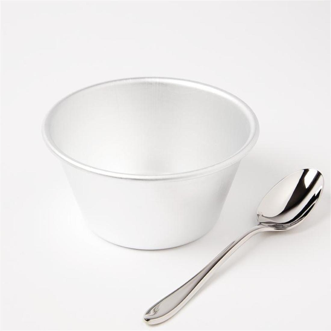 Vogue Aluminium Pudding Basin 340ml - Each - E046