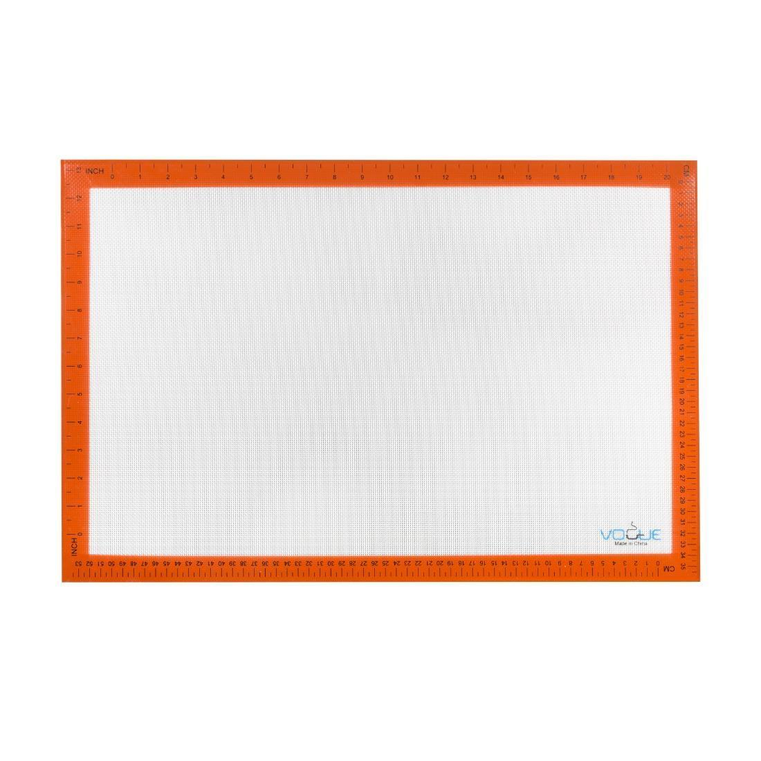 Vogue Non-Stick Silicone Baking Mat 585 x 385mm - Each - E687