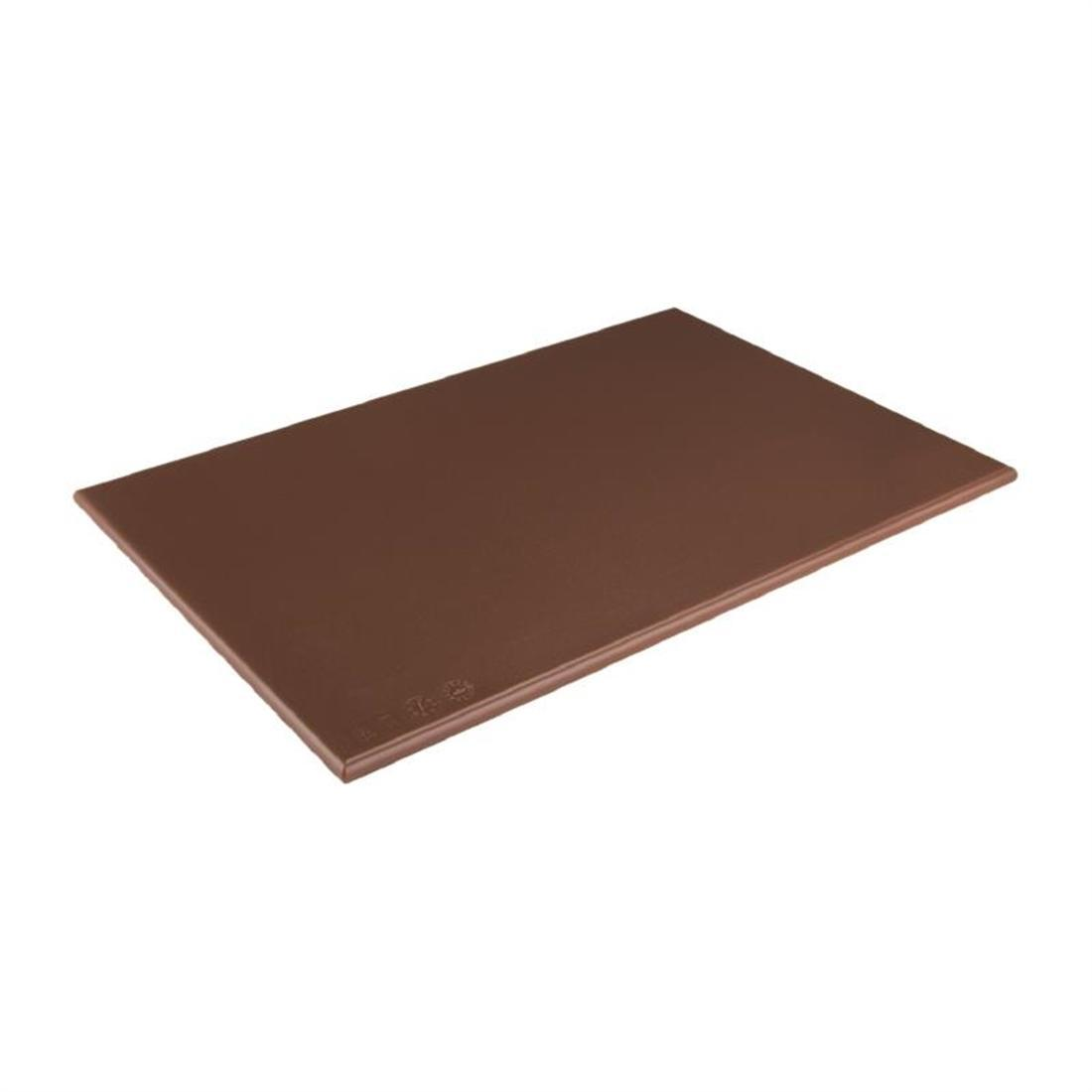 Hygiplas High Density Brown Chopping Board Standard