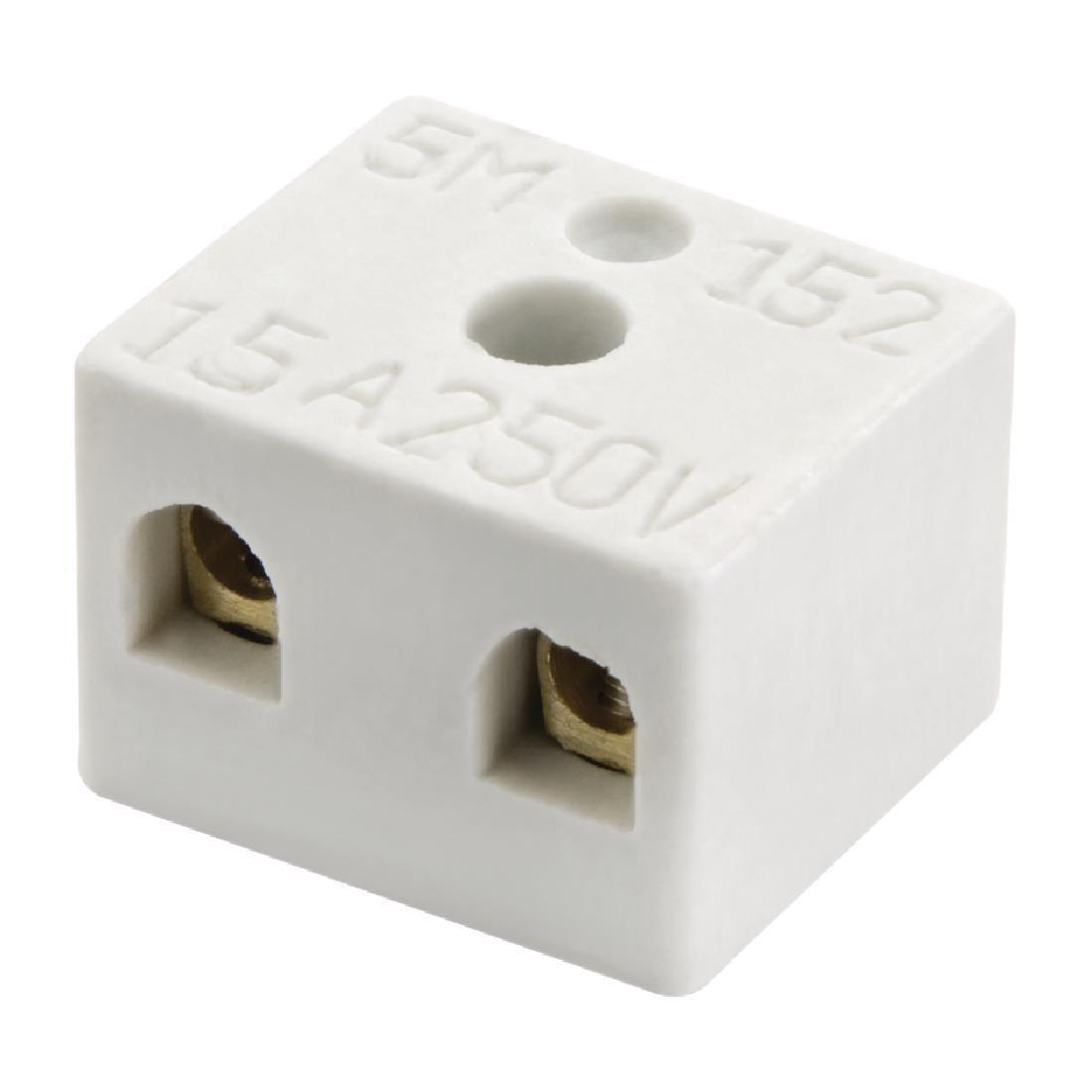 Buffalo Terminal Block For CP868 Buffalo Pizza Oven - AJ083