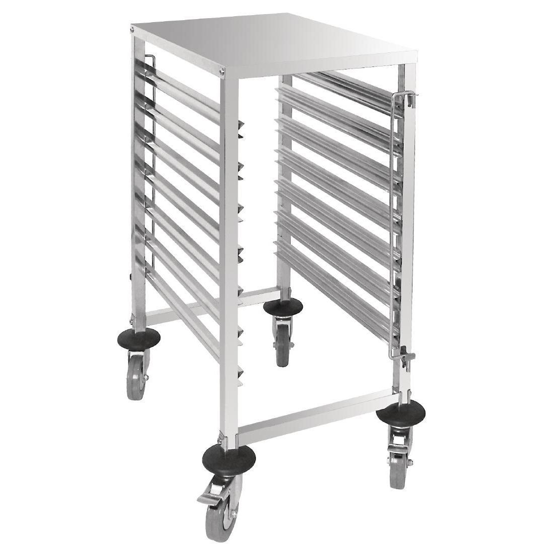 Vogue Gastronorm Racking Trolley 7 Level - Each - GG498