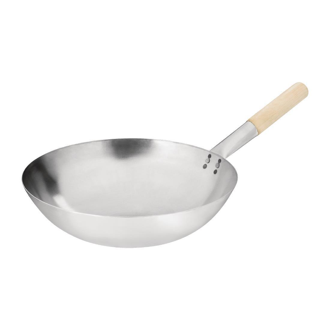 Vogue Mild Steel Wok Round Base 356mm - Each - K299