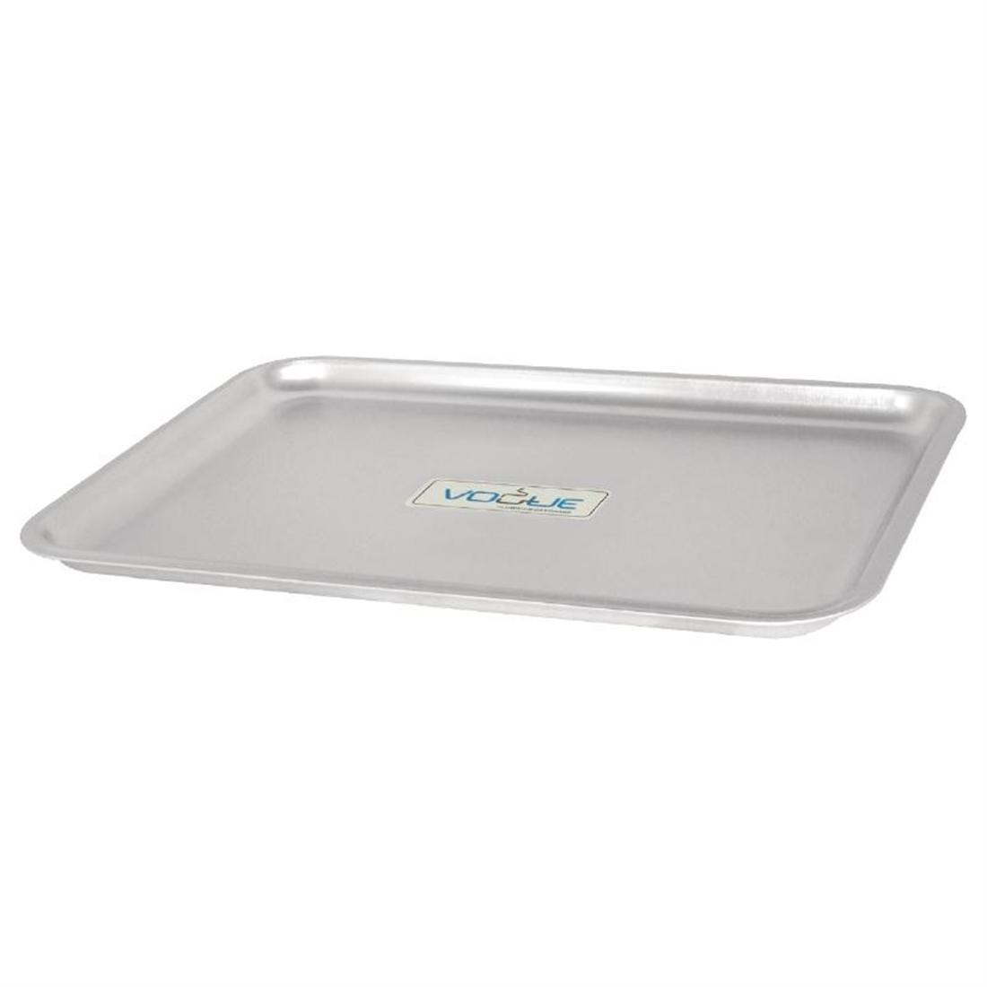 Vogue Aluminium Baking Tray 324 x 222mm - Each - K442