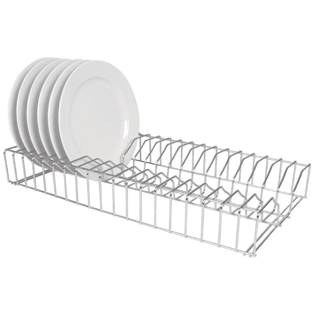 Vogue Stainless Steel Plate Racks - L440