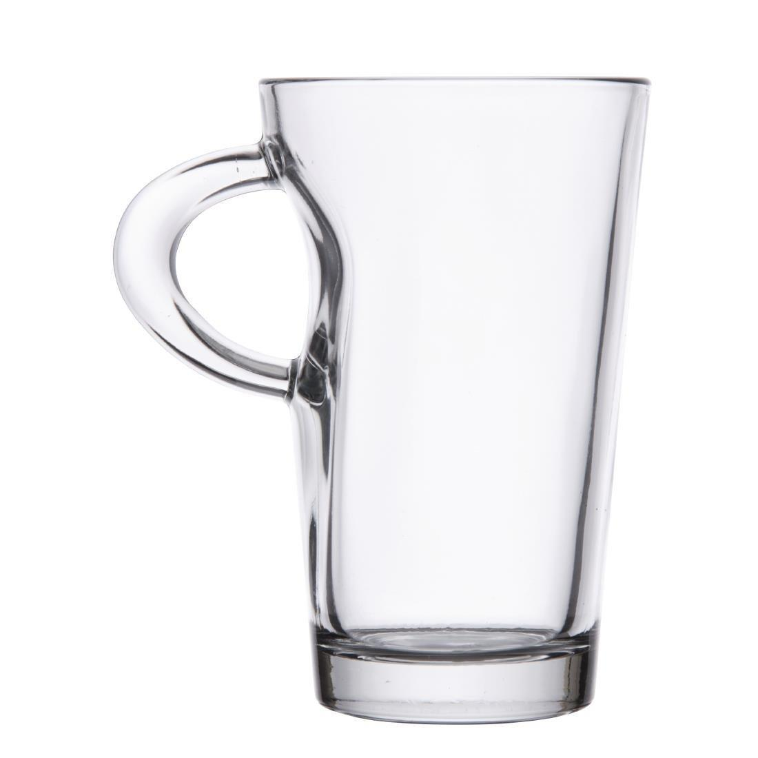 Glass Elba Coffee Mug - 250ml 9oz (Box 6) - CD120