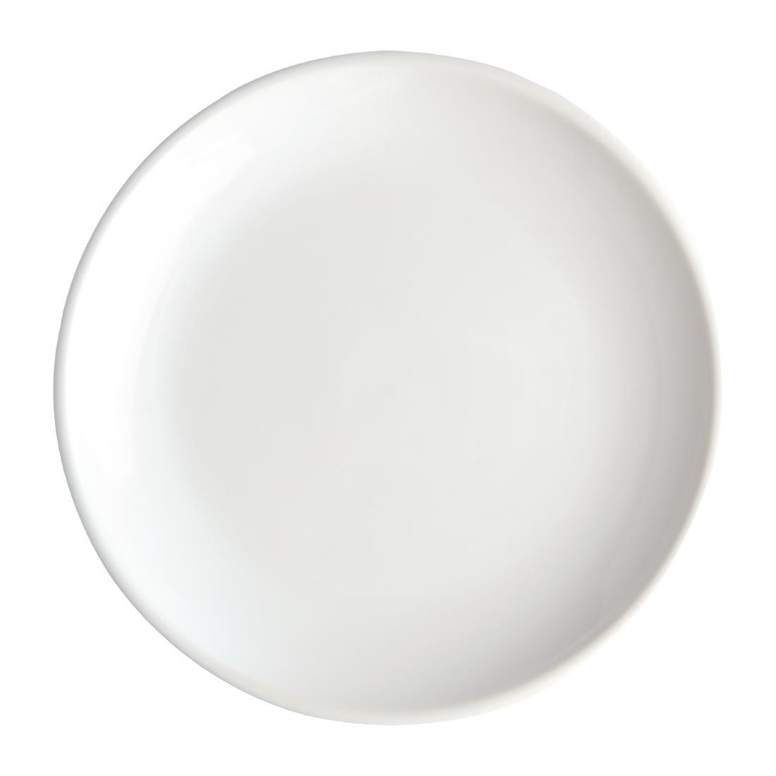 Olympia Cafe Coupe Plate White 205mm