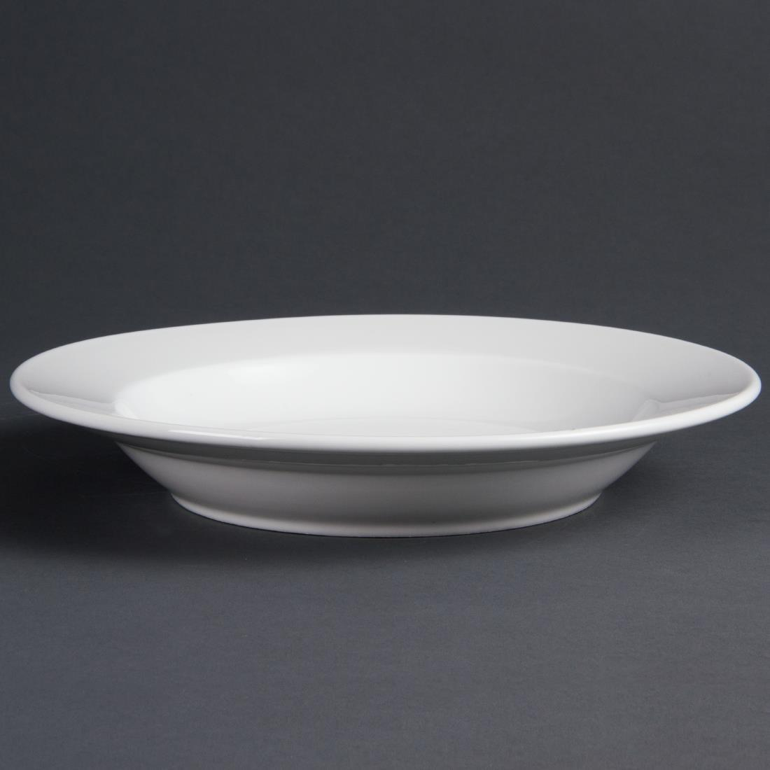 Olympia Whiteware Deep Plates 270mm