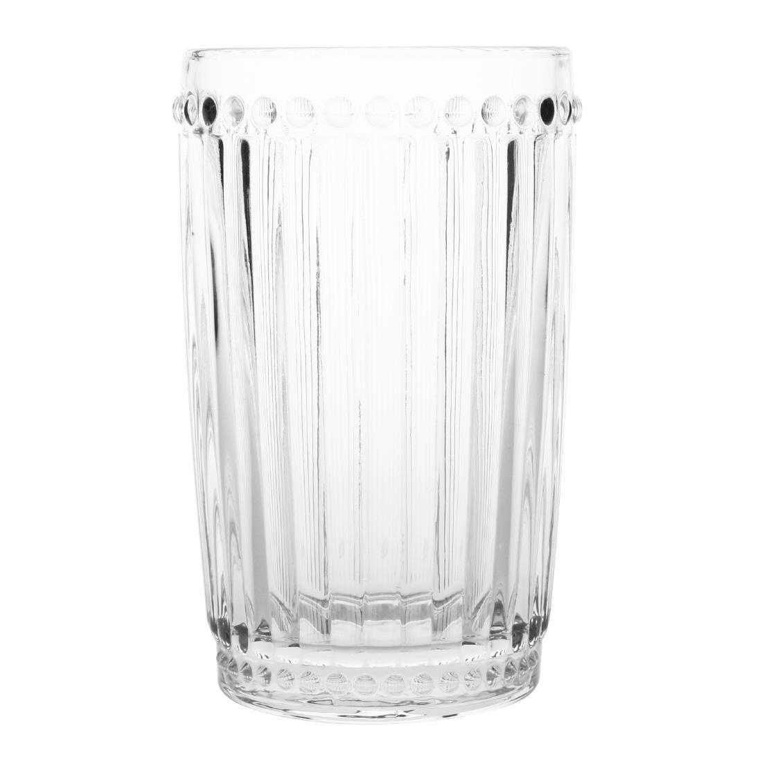 Olympia Baroque Glass Tumbler 395ml