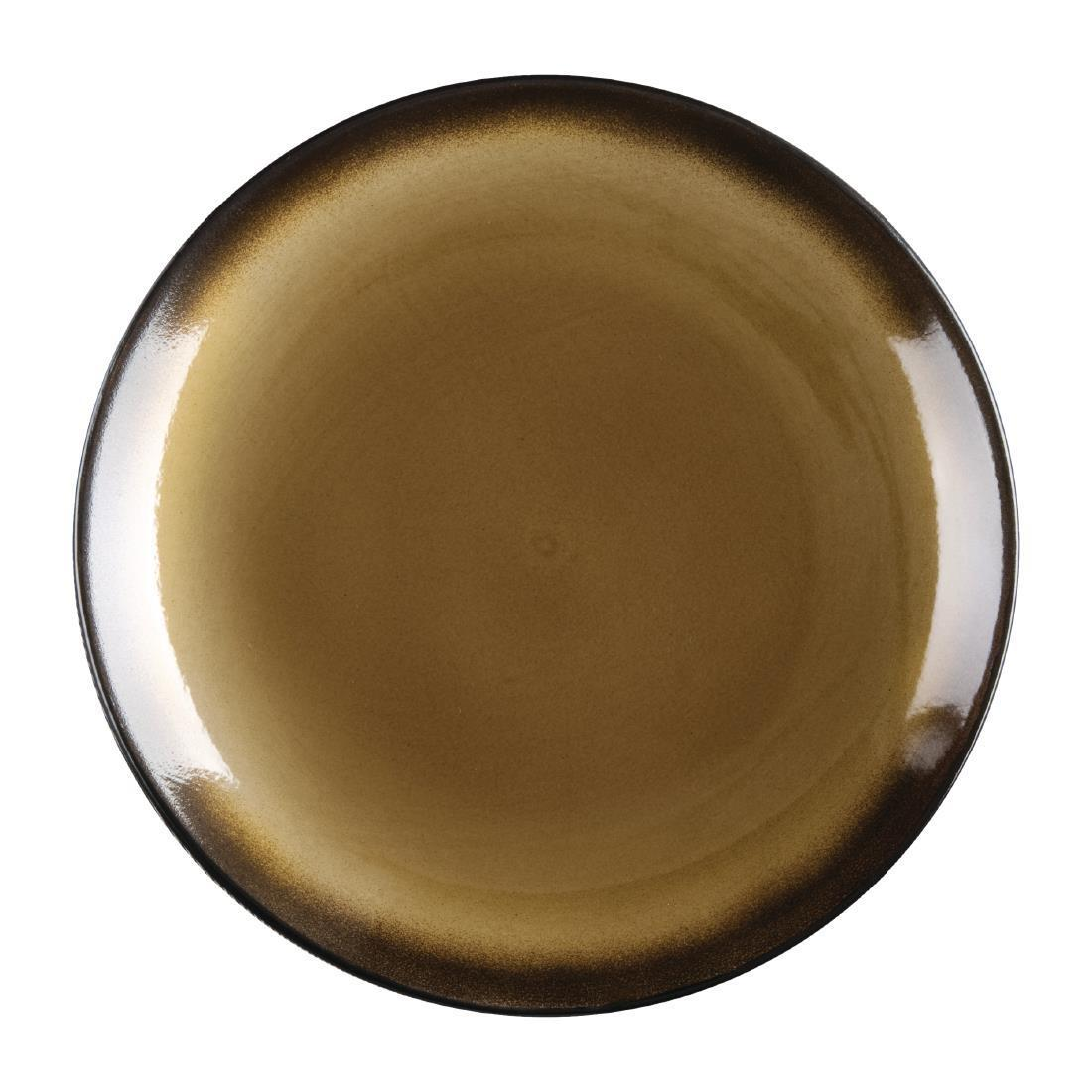 Olympia Nomi Round Coupe Plate Yellow 255mm
