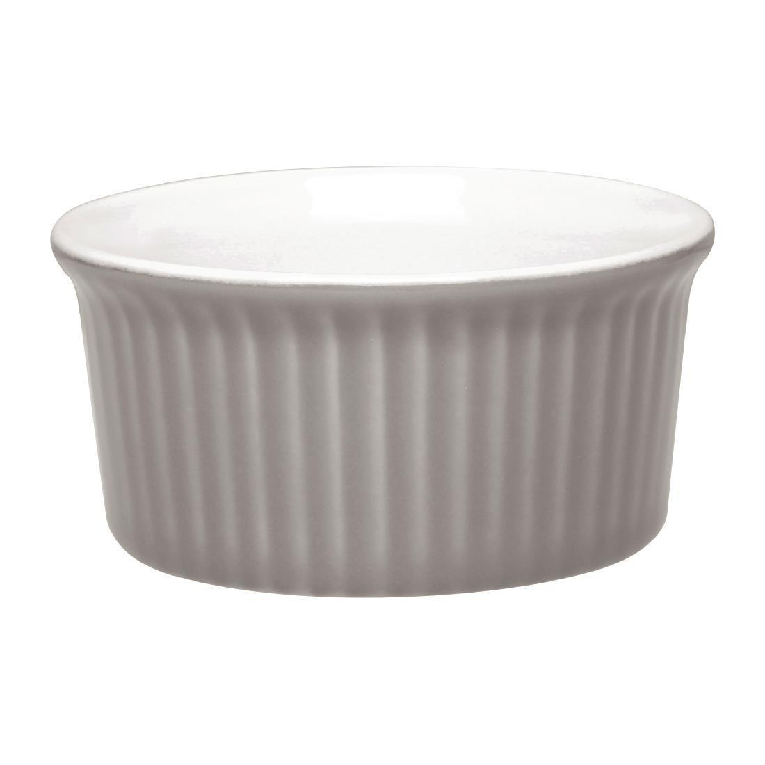 Olympia Pastel Ramekin Grey 145ml