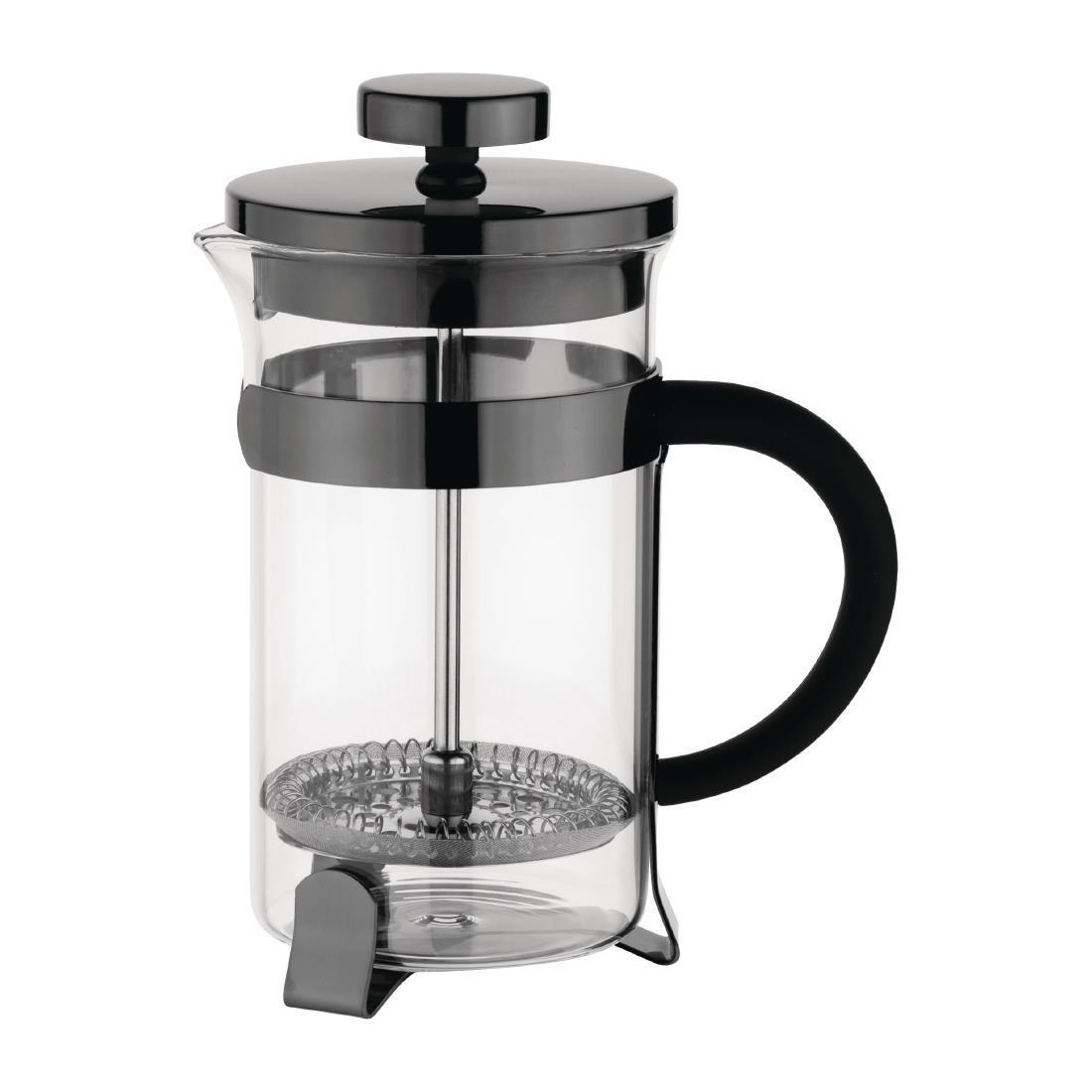 Olympia Contemporary Cafetiere Gunmetal 6 Cup