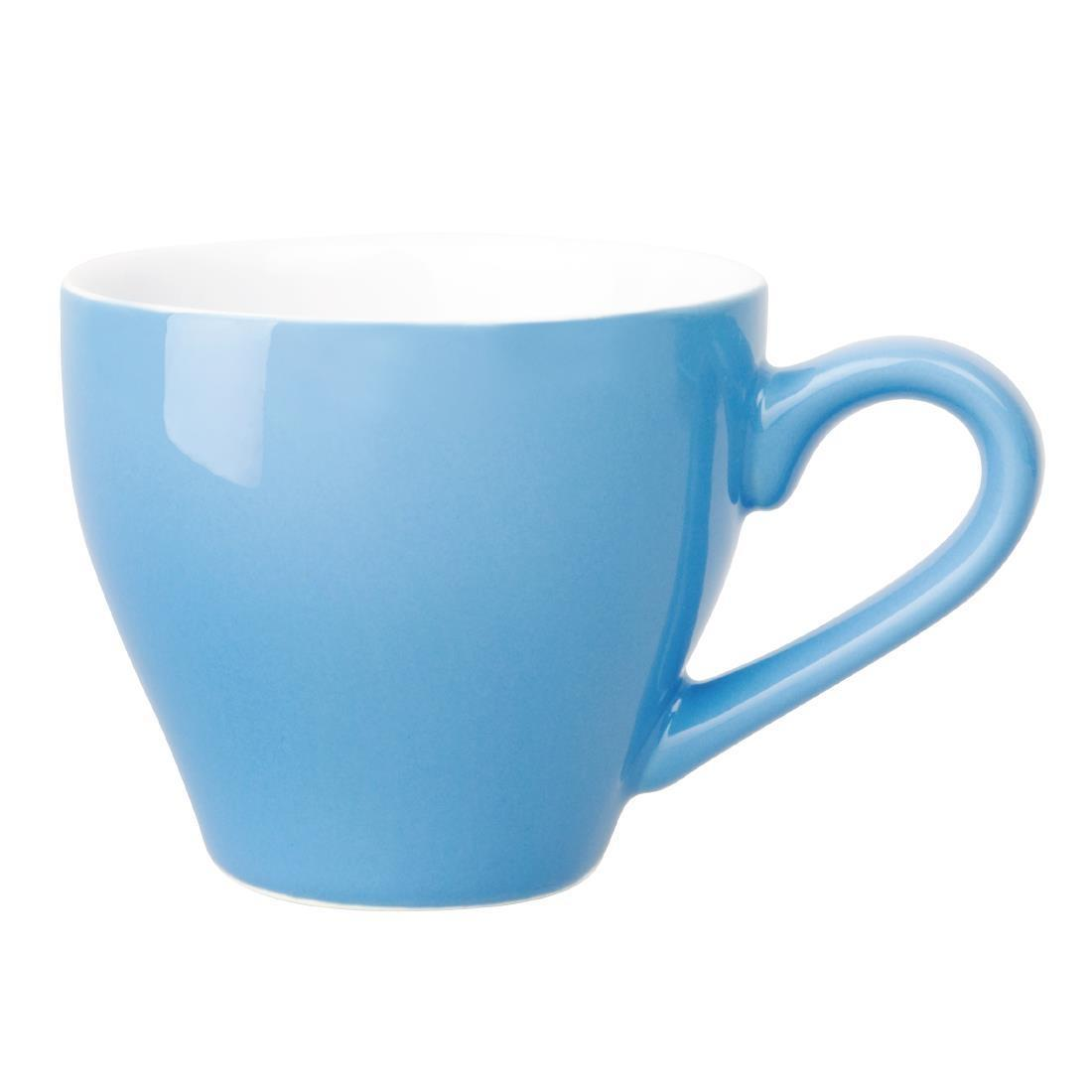 Olympia Cafe Espresso Cups Blue 100ml