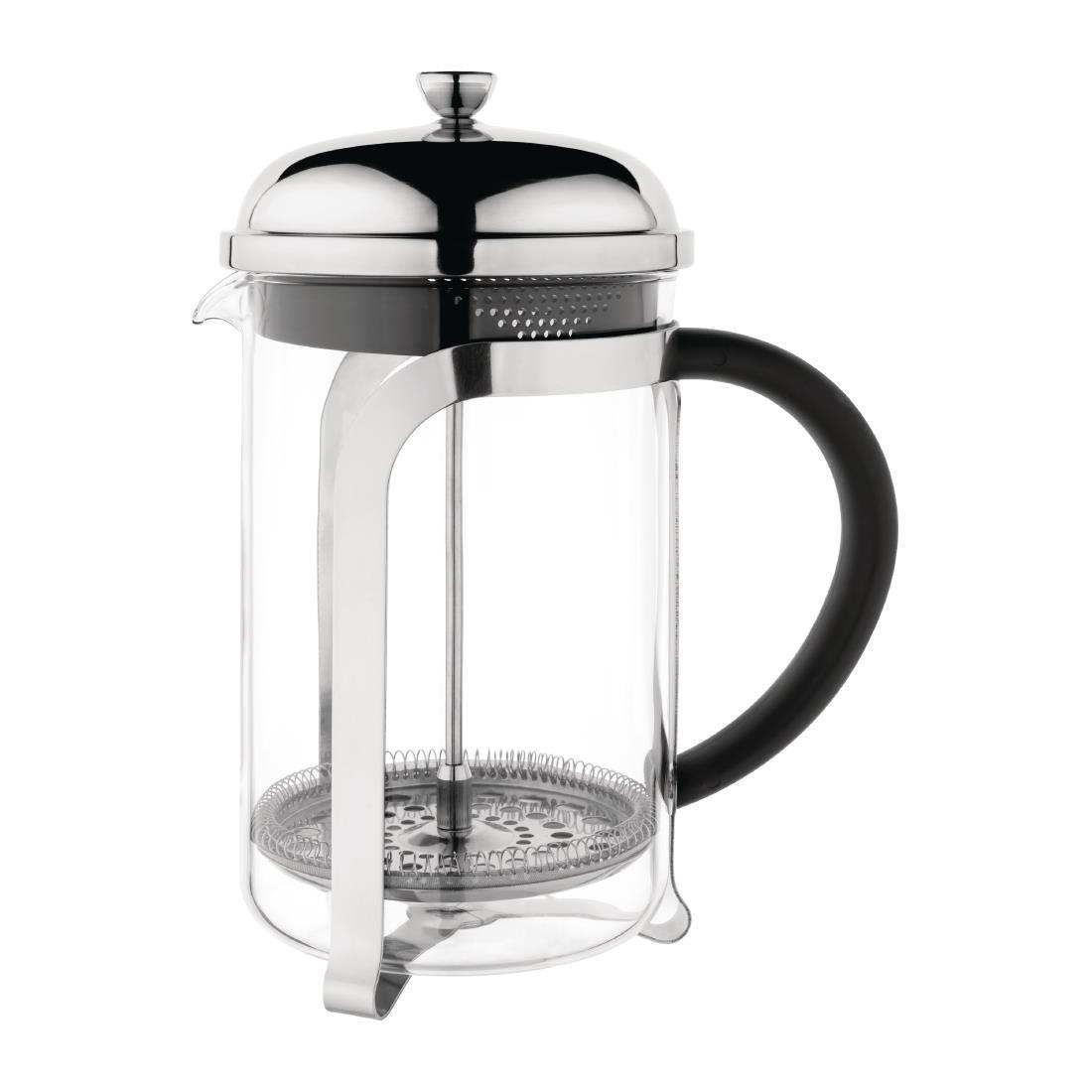 Olympia Traditional Glass Cafetiere 12 Cup